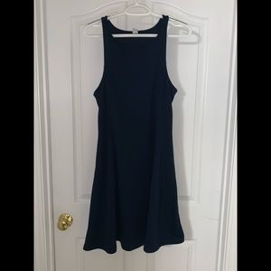 Navy Blue Sun Dress
